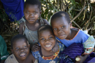 Happy children in Malawi